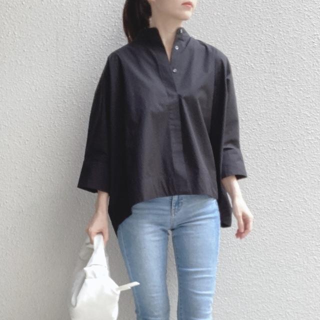 【ユニクロ+J】春夏のおすすめシャツで上下UNIQLOコーデ_1_4-2