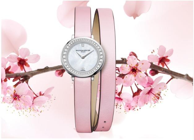 桜の季節にぴったり! ボーム&メルシエの春の限定モデル_1_1-1
