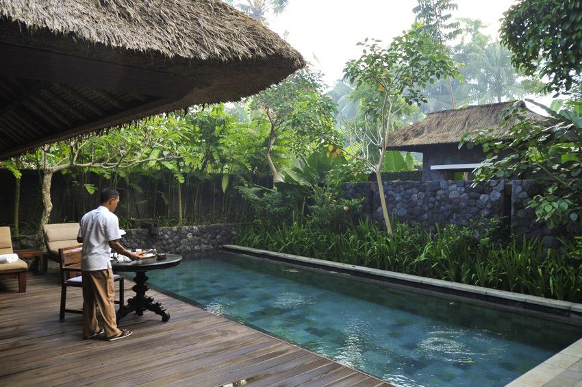 見事な熱帯の庭園 カユマニス ウブド 【インドネシアのお薦めホテル】_1_3-1