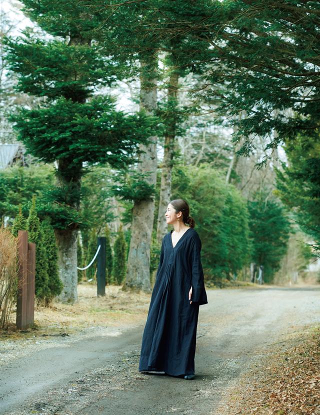 軽井沢に完全移住した櫛部美佐子さん