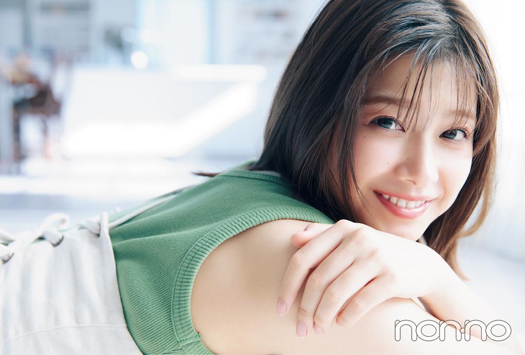 新木優子が、渡邉理佐をほっとけない理由。【vol.1】_1_2