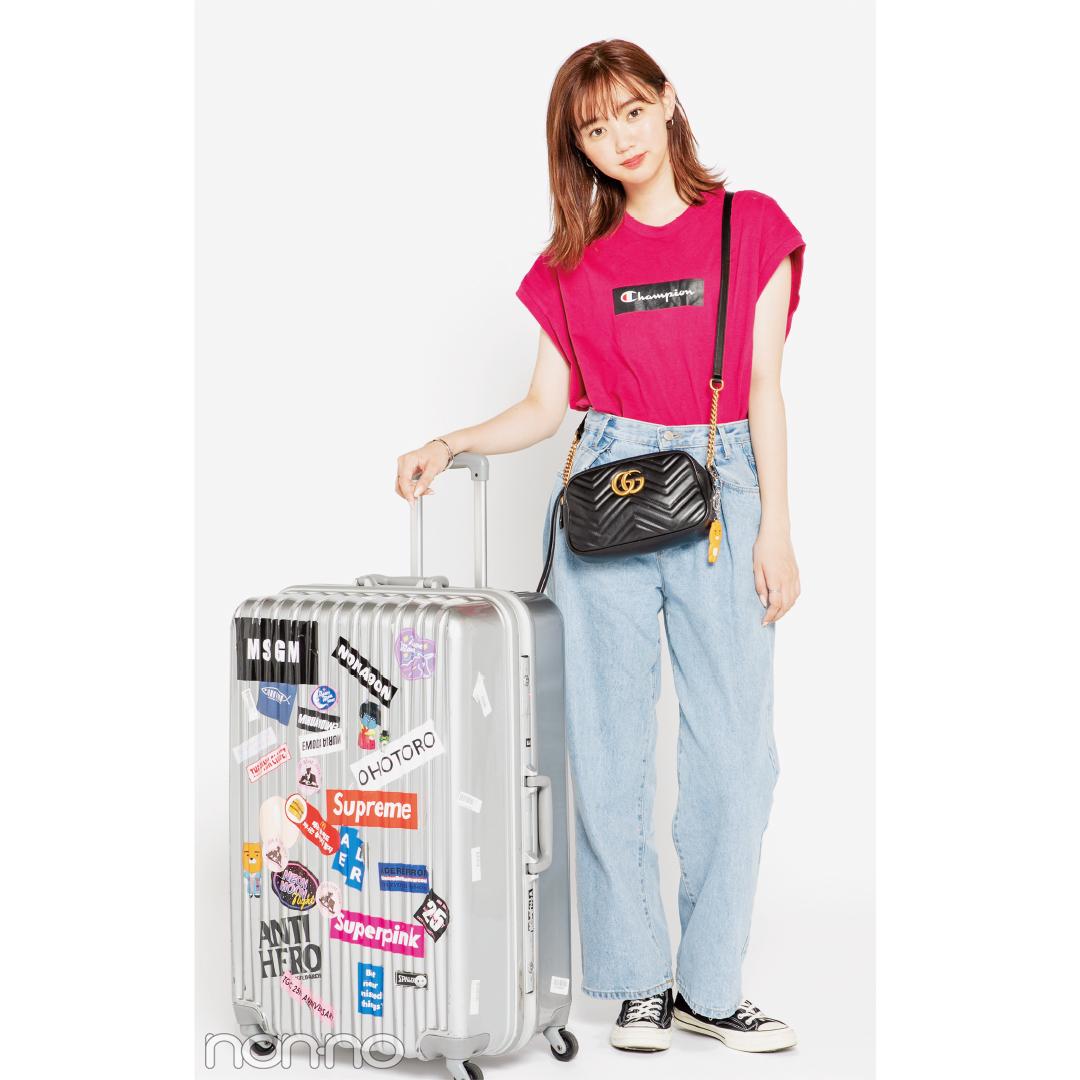 ノンノモデル江野沢愛美の韓国2泊3日★スーツケースの中身、全部見せます!_1_3-1