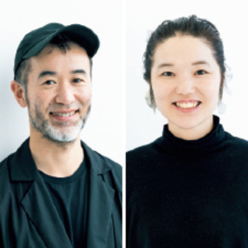 薫森正義さん(左)・二階堂雪さん(右)