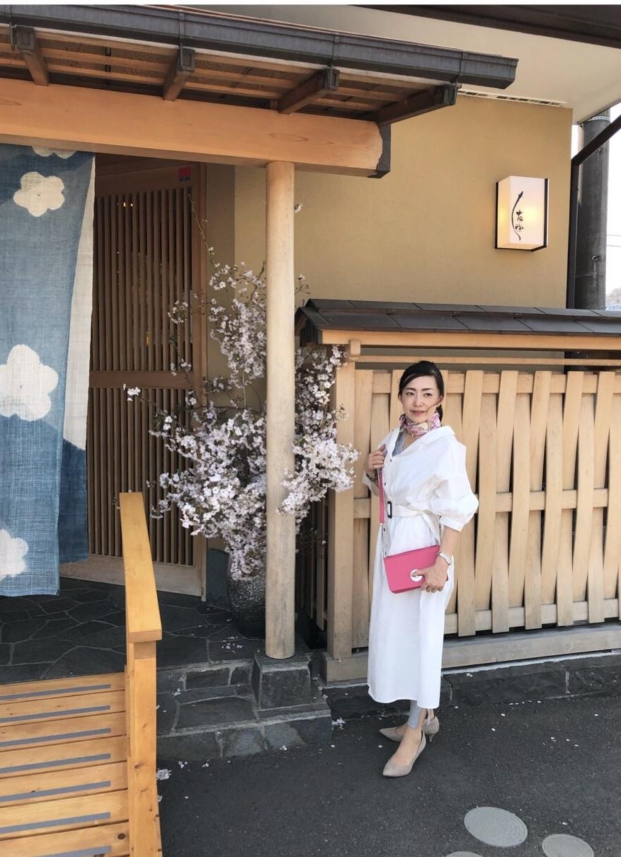 春のシャツワンピコーデで箱根旅•.*•_1_2