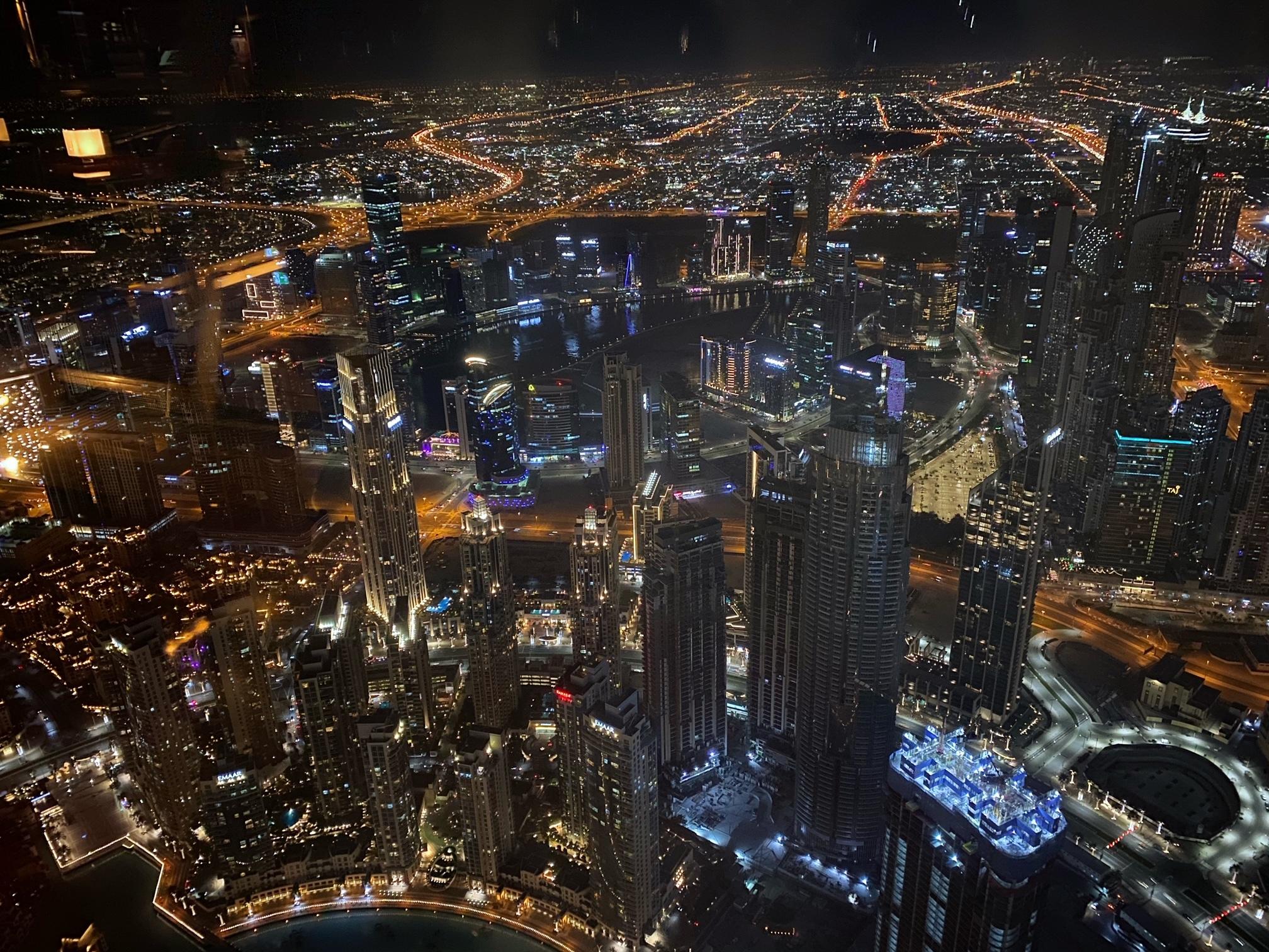 世界で一番高い場所にあるレストランへ〜ドバイ⑤〜_1_8