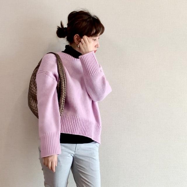セーターのチクチクは、レイヤードで解決!でもインナー選びは?_1_5
