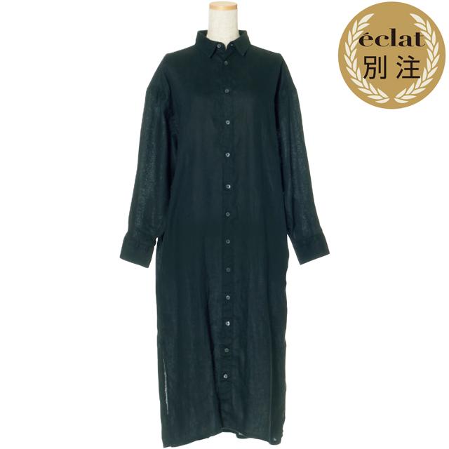 池田奈加子×フィナモレ シャツドレス