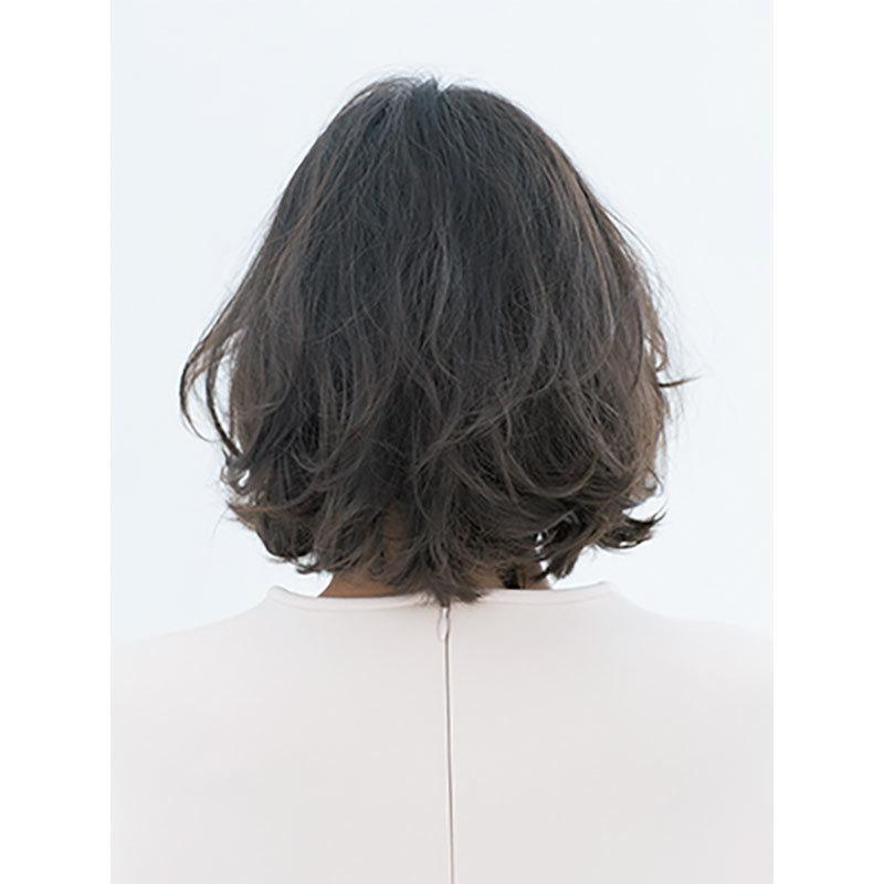 後ろから見た 人気ヘアスタイル6位の髪型
