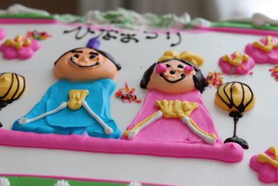 コストコのBIGケーキもひな祭り仕様に♪_1_1