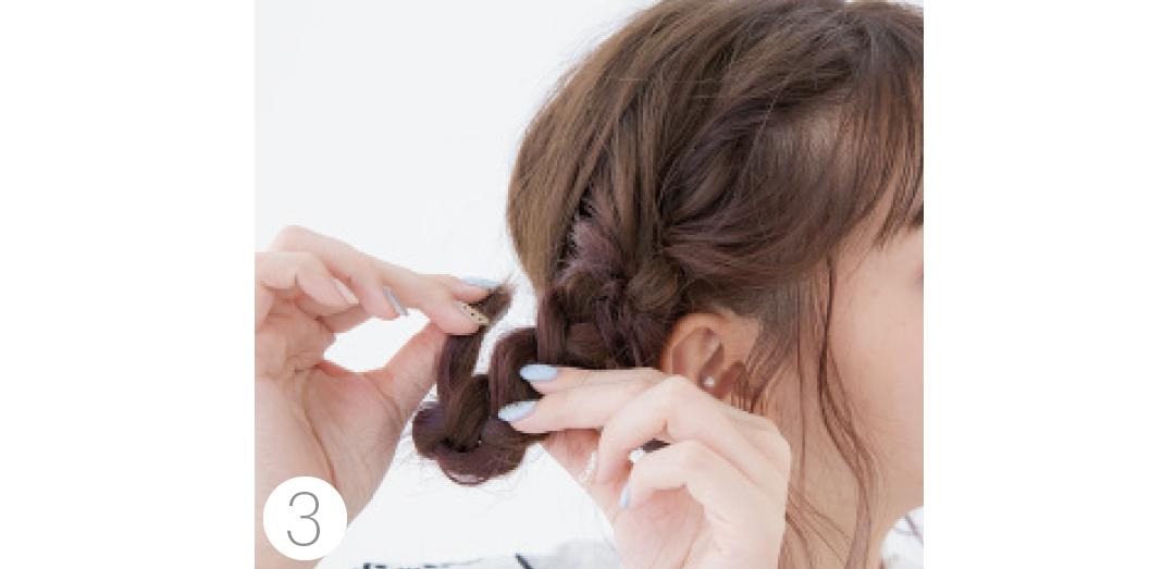 ボブでもできるまとめ髪を伝授! 年末年始の女子会ヘアアレンジ_1_4-3