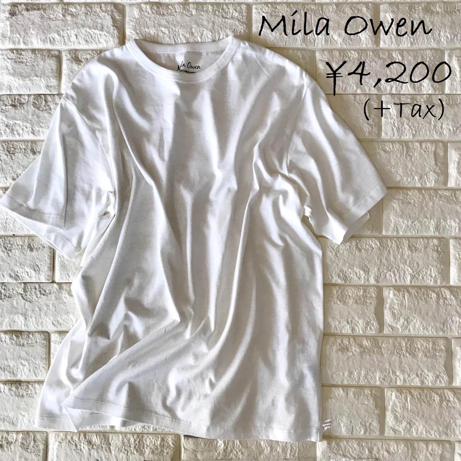 ミラオーウェンTシャツ画像