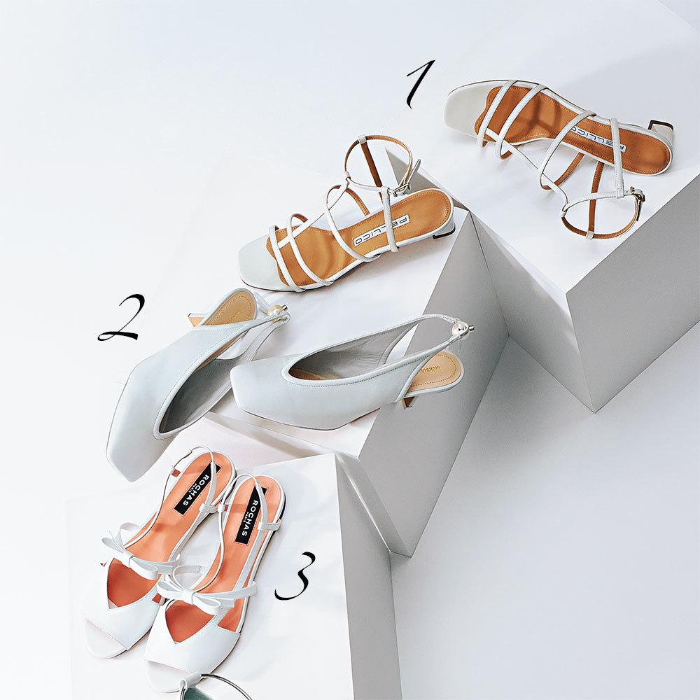 """""""真っ白な靴""""がきれいめにもカジュアルにも使える!_1_1-3"""