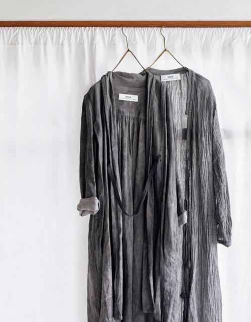 """たくさん着て洗うのがおすすめ""""タブリクのリネンローブ""""【MADE IN JAPANの隠れた名品】_1_1"""