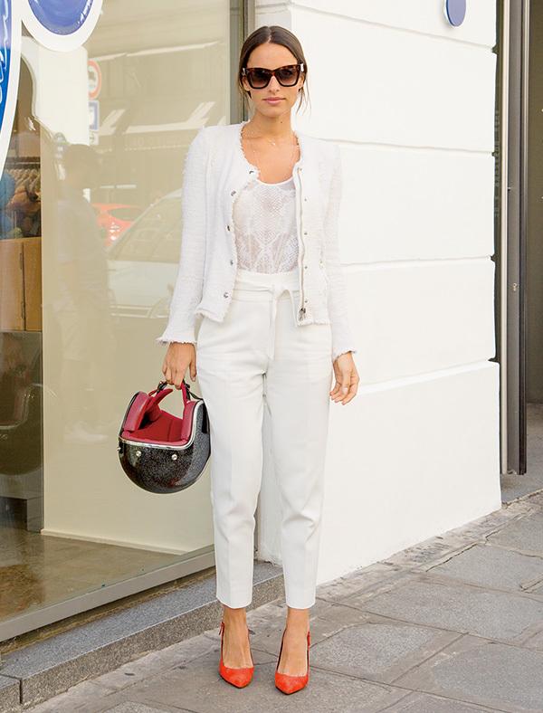 全身「白」をカジュアルスタイルに取り入れる【ファッションSNAP ミラノ・パリ編】_1_1-5