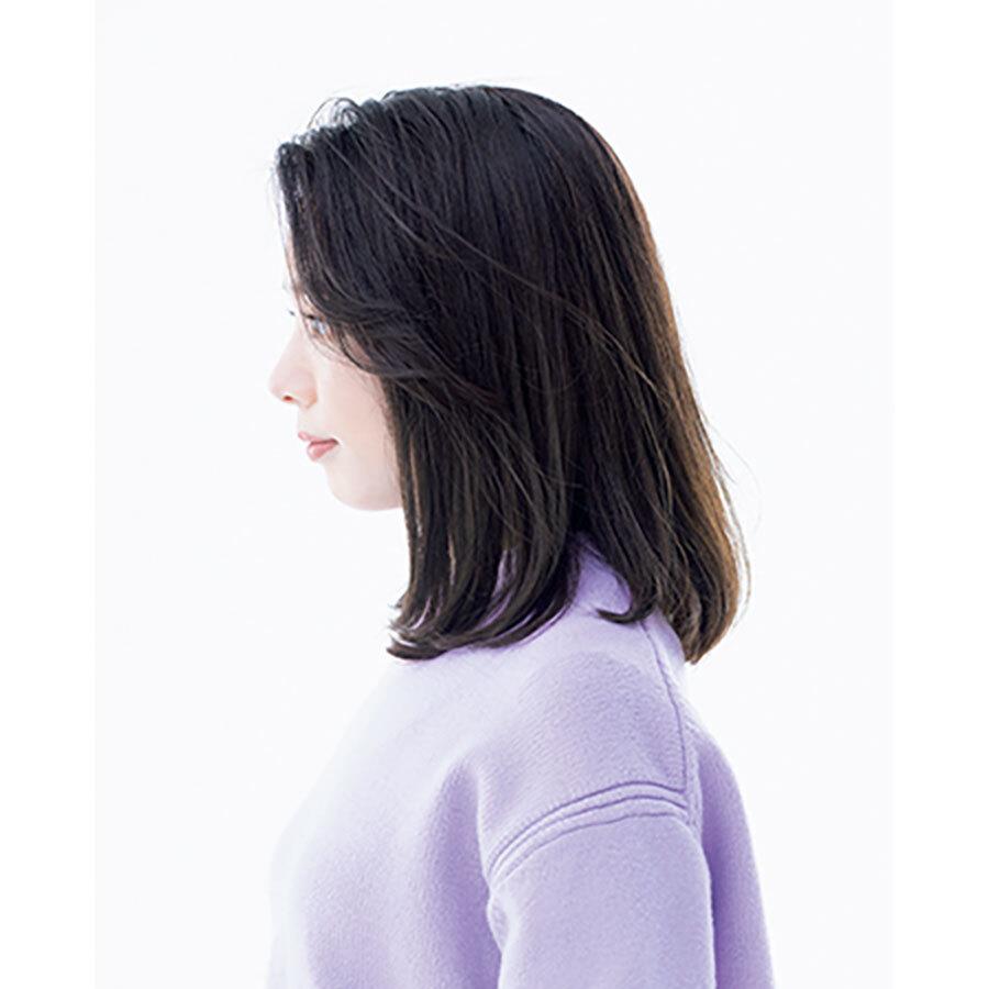 横から見た40代に似合う髪型ヘアスタイル人気ランキング4位