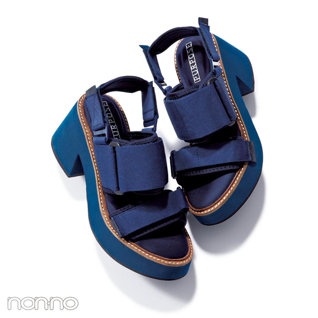 サンダル2019★ハイテク厚底スポサン系の靴下合わせ、正解教えます!_1_4-1