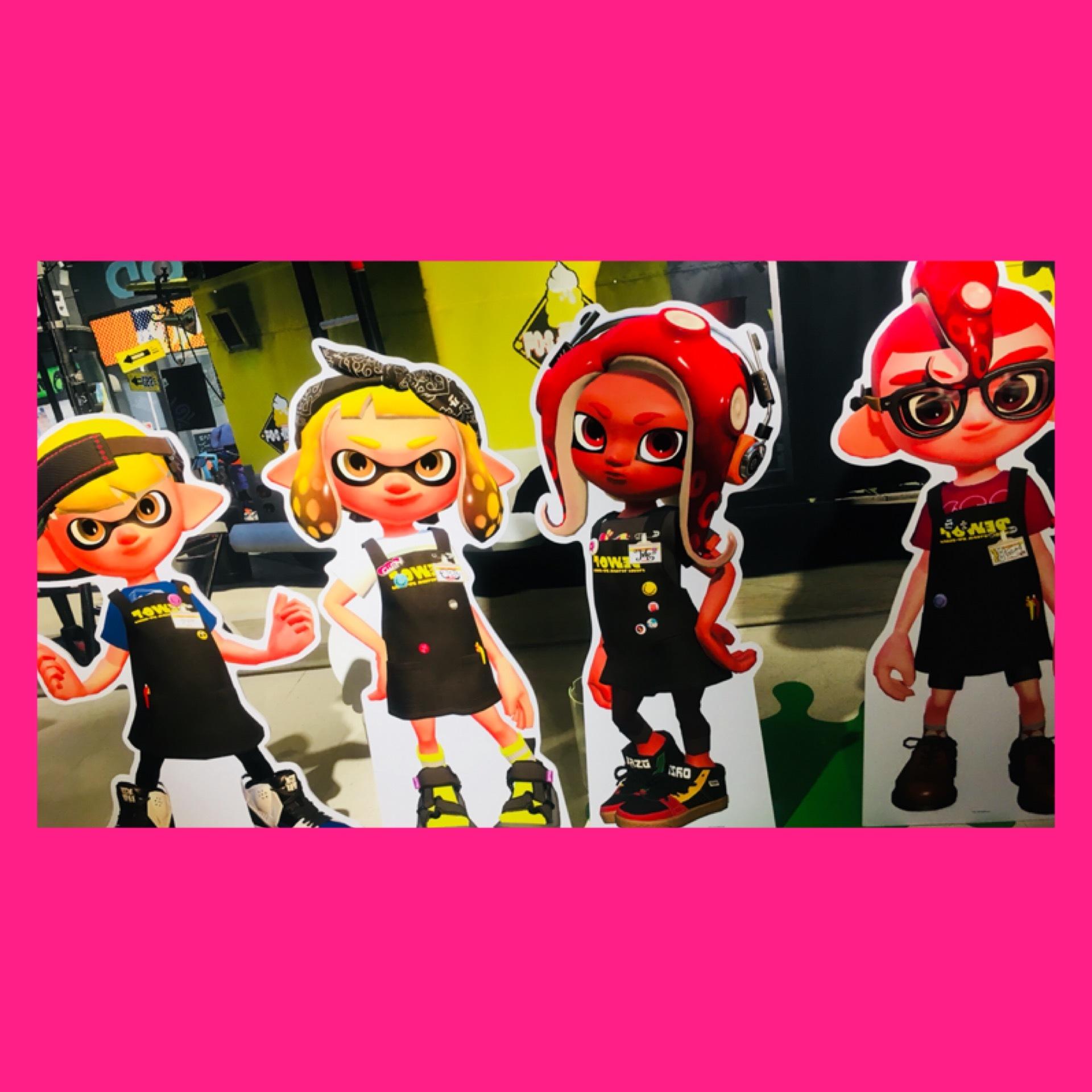 【Splatoon展】Shibuyaタワレコに行ってきました♡_1_2-3
