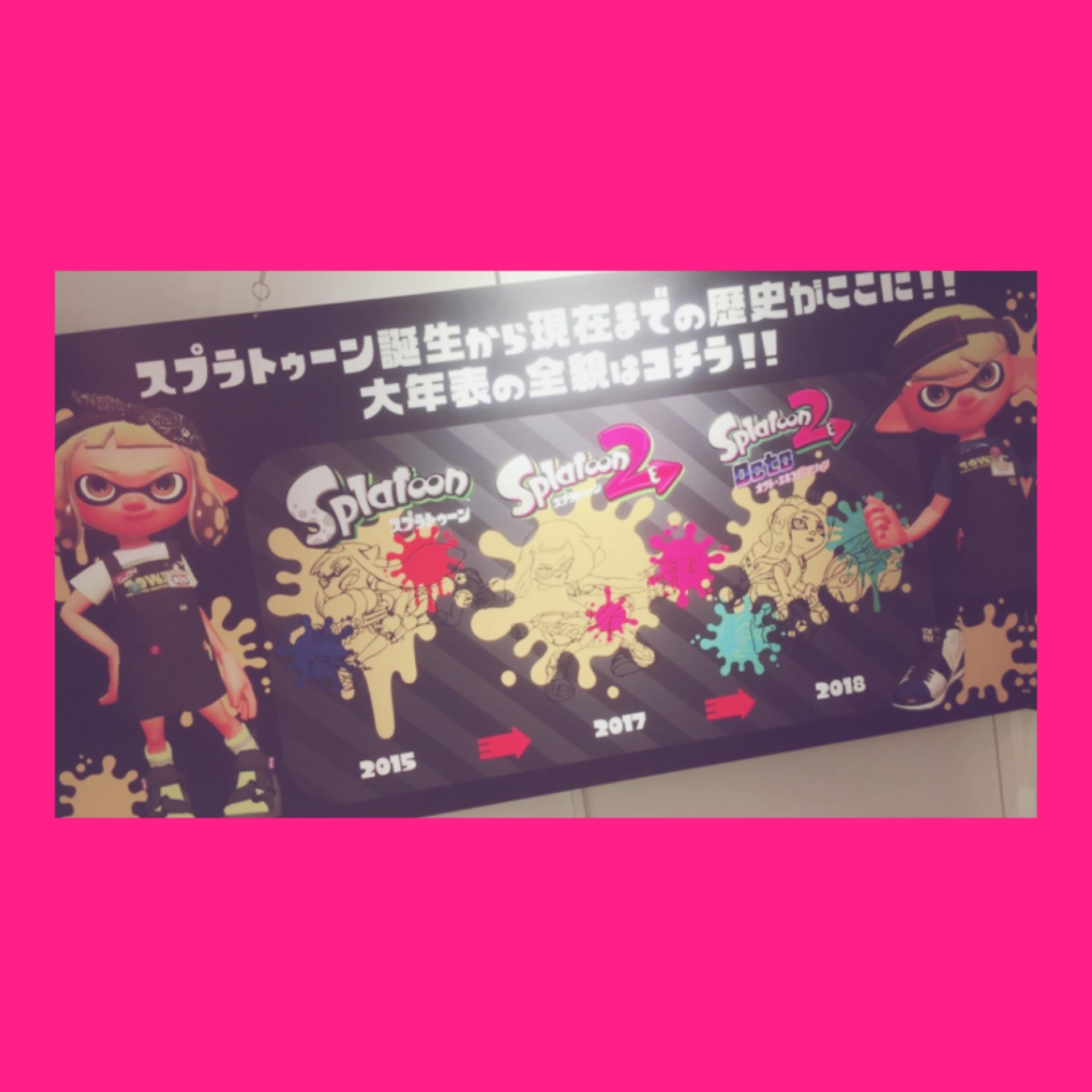 【Splatoon展】Shibuyaタワレコに行ってきました♡_1_3-1