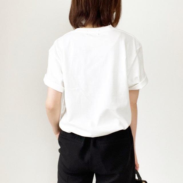 今年1枚は欲しい!オーバーサイズロゴTシャツ【tomomiyuコーデ】_1_3
