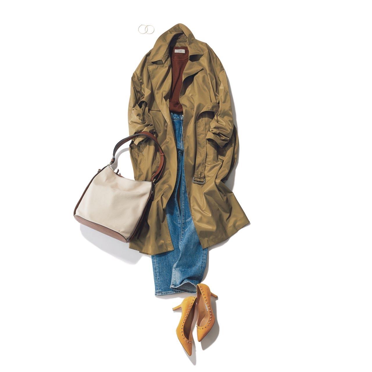 アラフォーを輝かせる4大春アウターのコーディネート実例集|40代レディースファッション_1_37