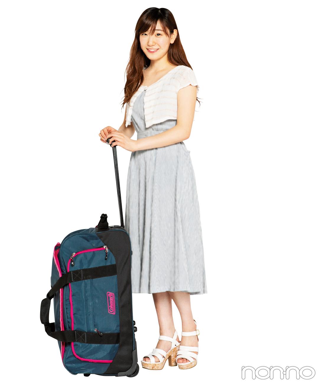 ノンノ専属読モ・カワイイ選抜の夏合宿のパッキングの極意☆_1_2