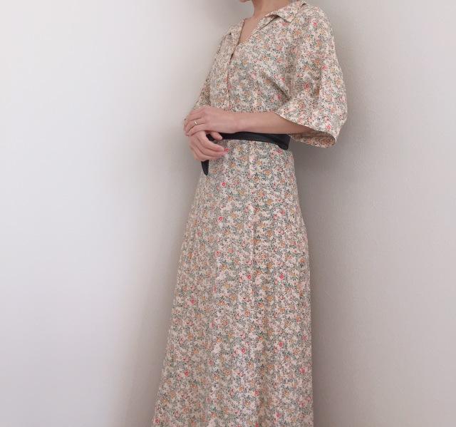 骨格ウェーブに嬉しい!小花柄②【momoko_fashion】_1_1-1
