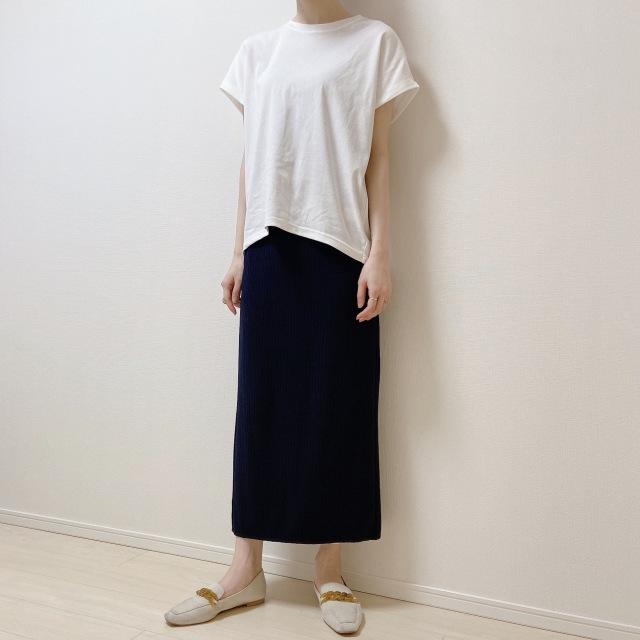 盛らなくてもサマになる! N.O.R.Cの白Tシャツ【40代のスタイルアップコーデ #6】_1_5