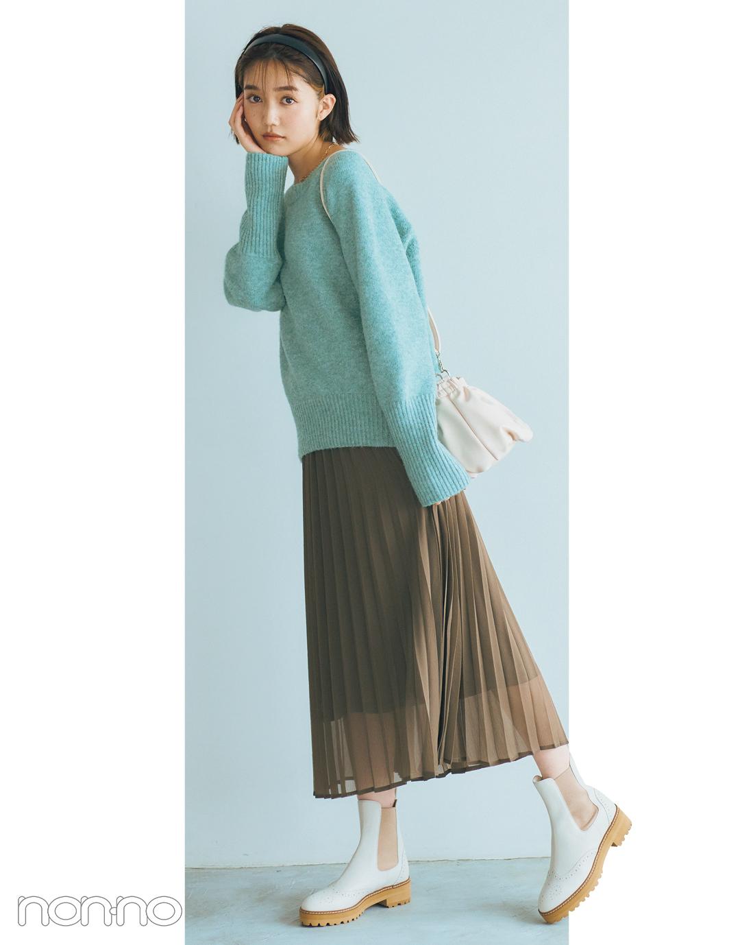 松川菜々花のはきたい靴から考える、本日のコーデ。モデルカット2−5