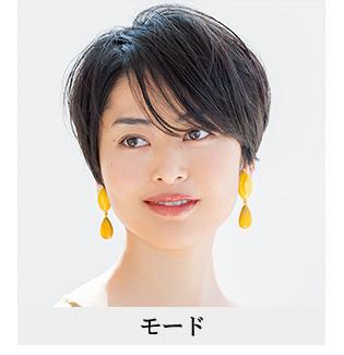 40代の髪型 モードな雰囲気になりたい人向けのヘアスタイル