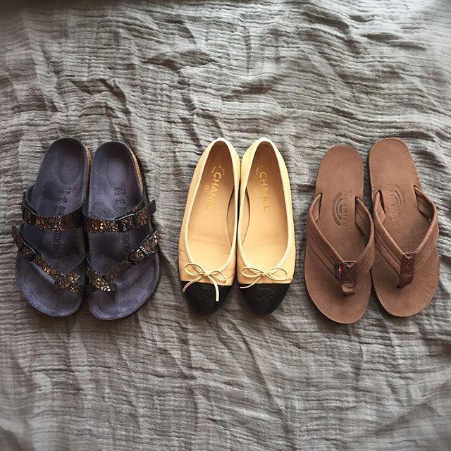 春夏の靴のスタメンはフラットシューズばかり。仕事に休日コーデにと大活躍!_1_1