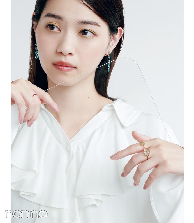 西野七瀬のジュエリーNEW WAVE モデルカット3-1