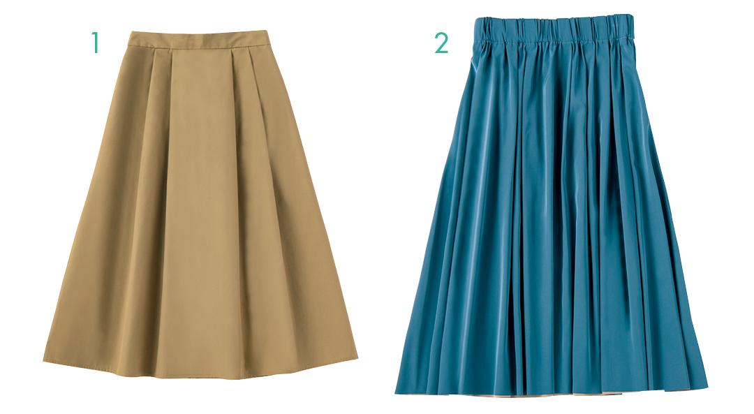 楽ちんなのにきれいめ&快適なスカートはこちら!【夏のオフィスコーデ】_1_5