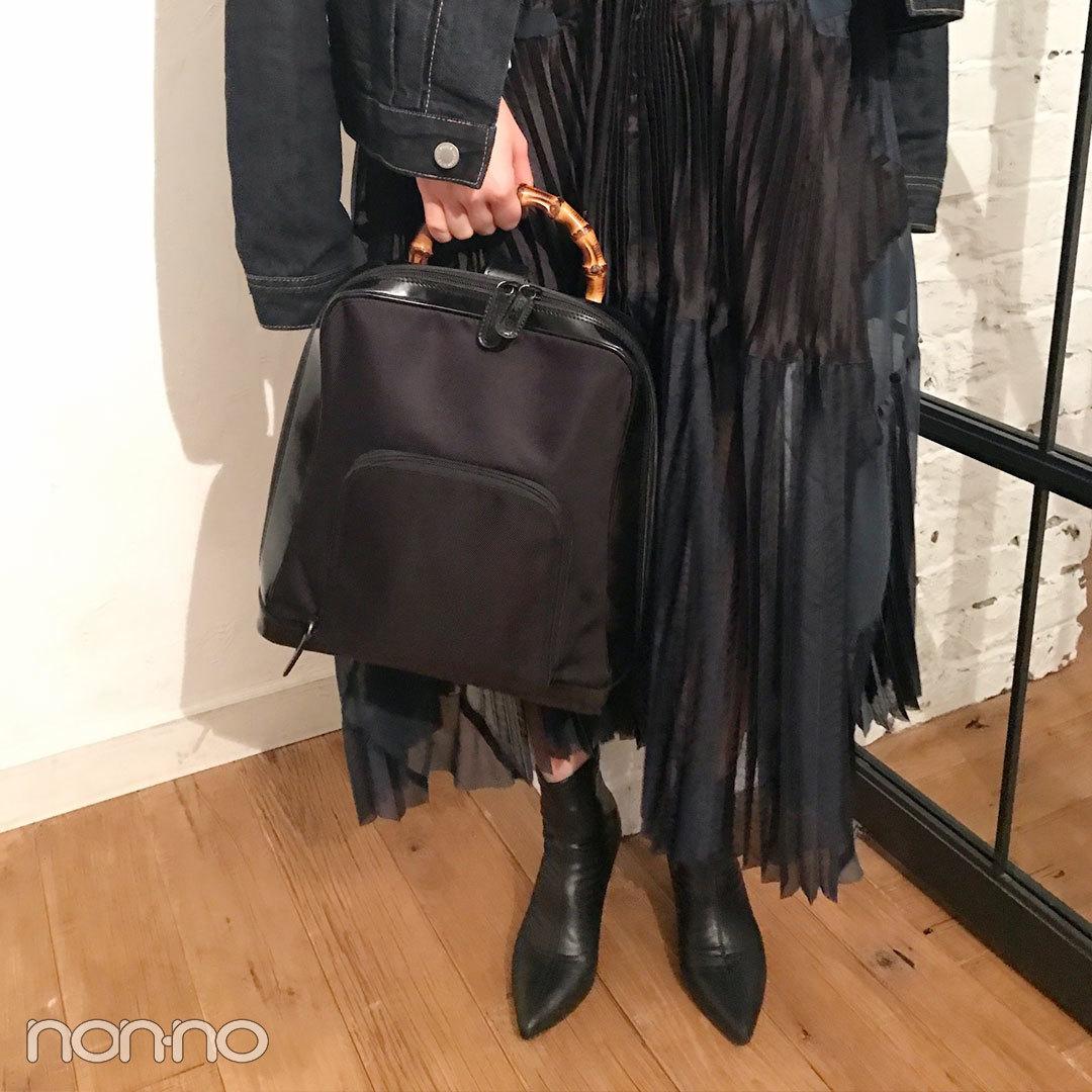 新木優子の私服拝見♡ 華やかな黒でおめかしコーデ!【モデルの私服スナップ】_1_2-2