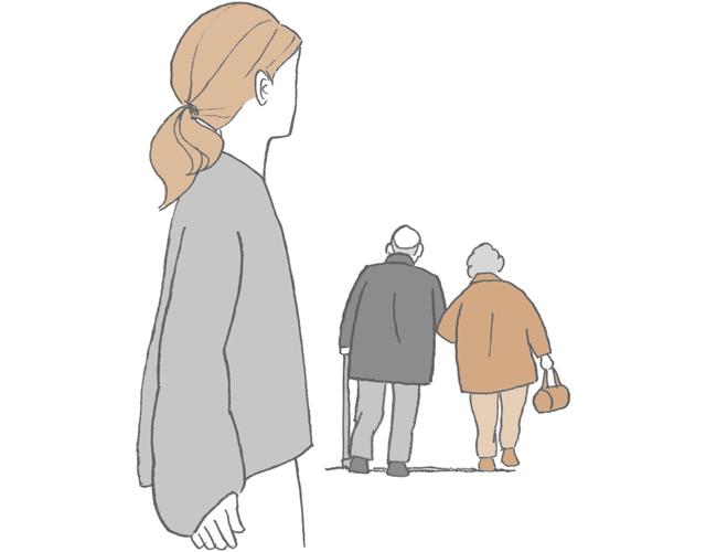 親が老いていく姿を見ると……