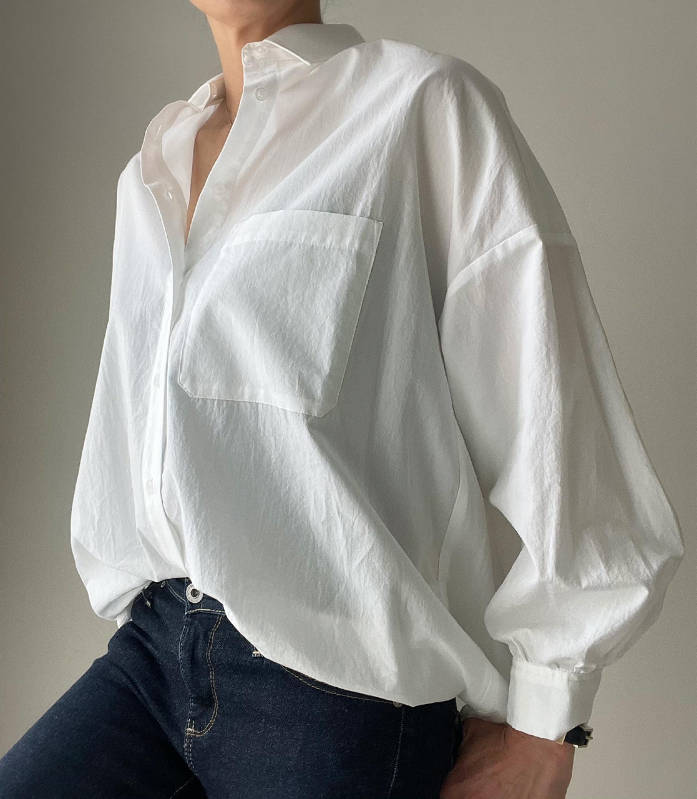 白シャツは鉄板コーデで_1_4