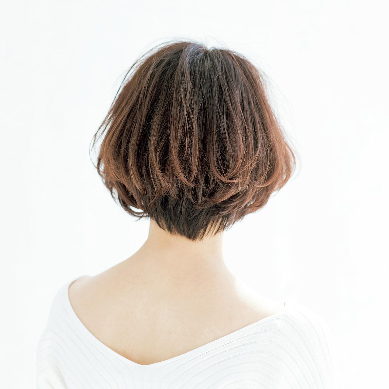 おしゃれに見える大人のヘアスタイル photo gallery_1_1-19