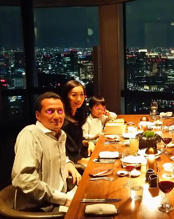 アンダーズ東京の51階 タヴァン ダイニングで素敵な夜景ディナー_1_1