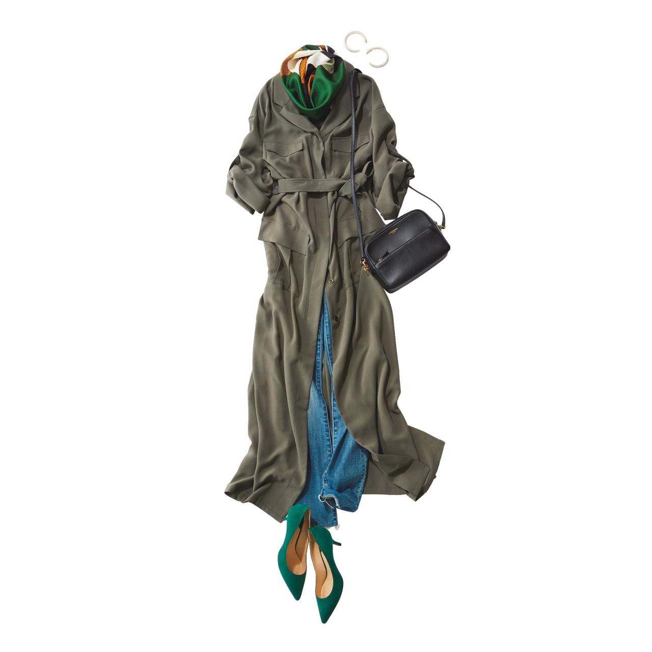 2018年秋冬 人気ファッションコーデランキング8位