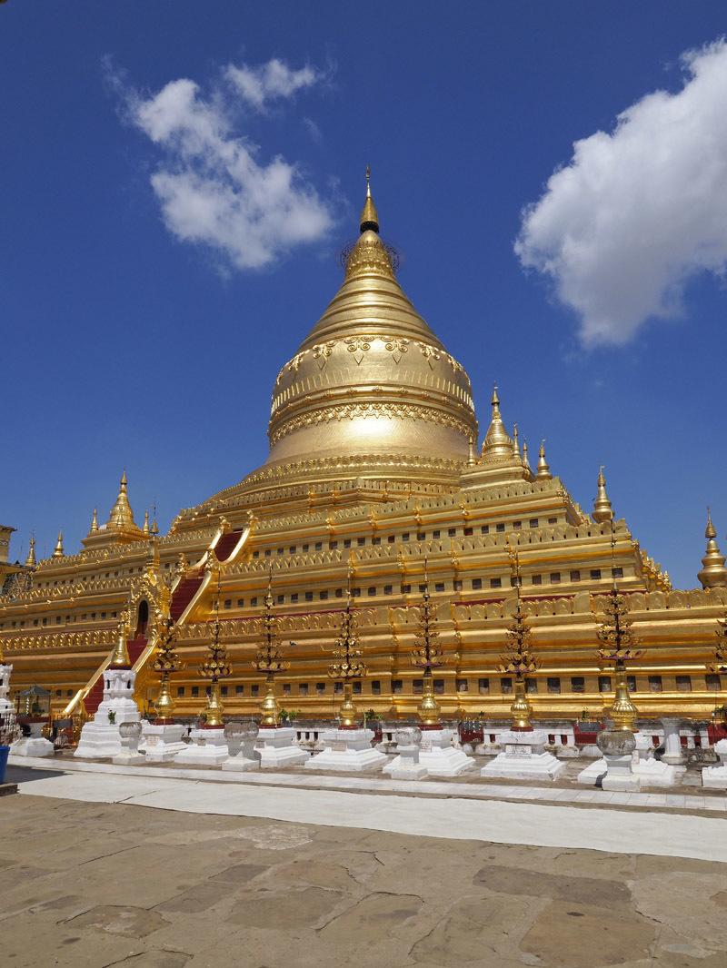 <ミャンマーの旅>見晴るかす三千基のパゴダ、バガン王朝の栄枯盛衰(バガン①)_1_4-5