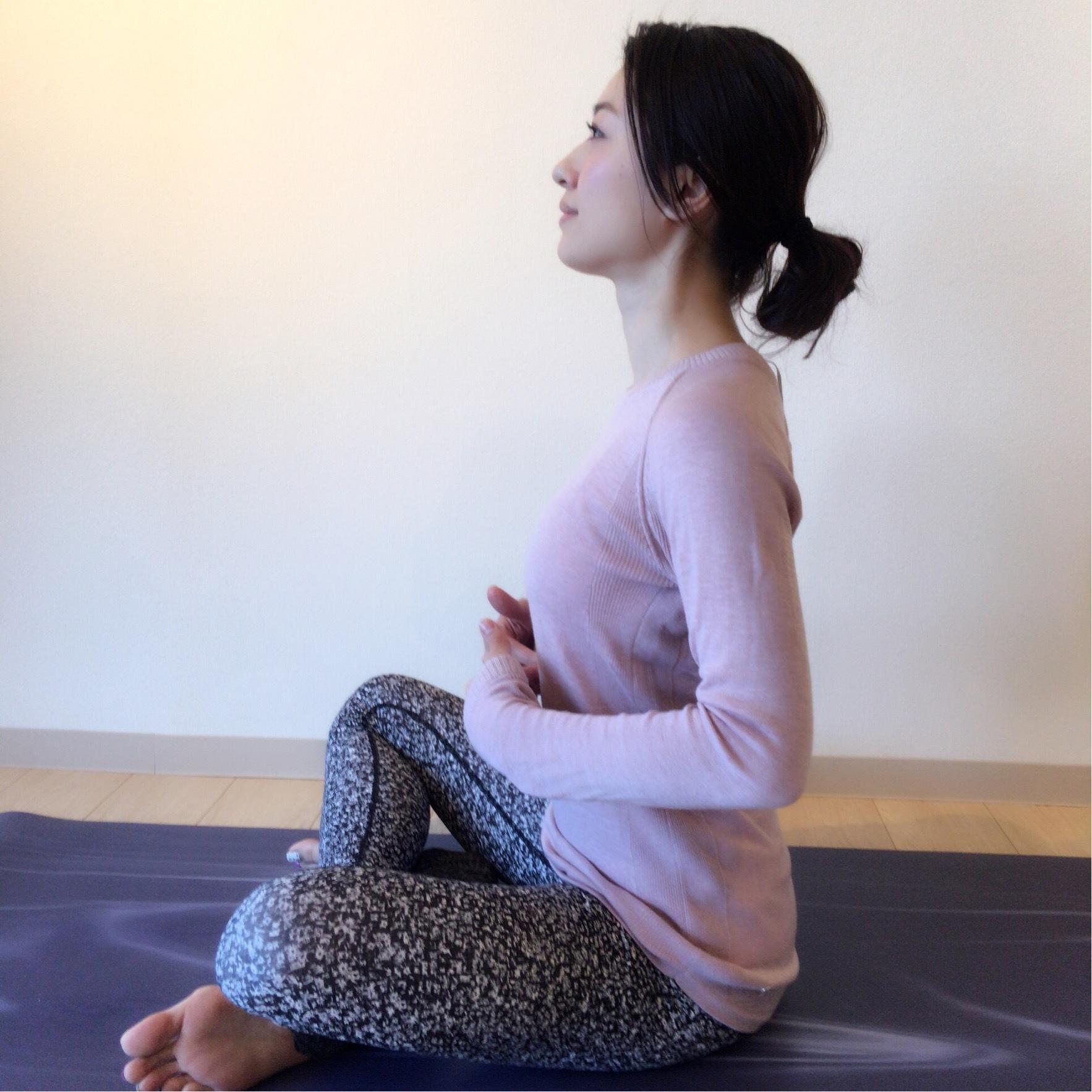 """""""艶肌""""プロジェクトby美女組③呼吸を深めるヨガ_1_3-2"""