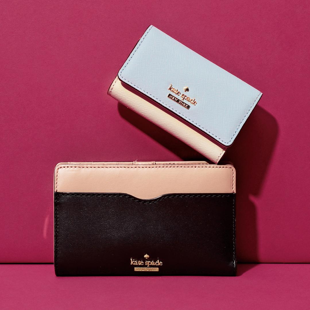 ケイト・スペード ニューヨークの新作お財布&カードケース、iphoneケースまで!_1_2-3