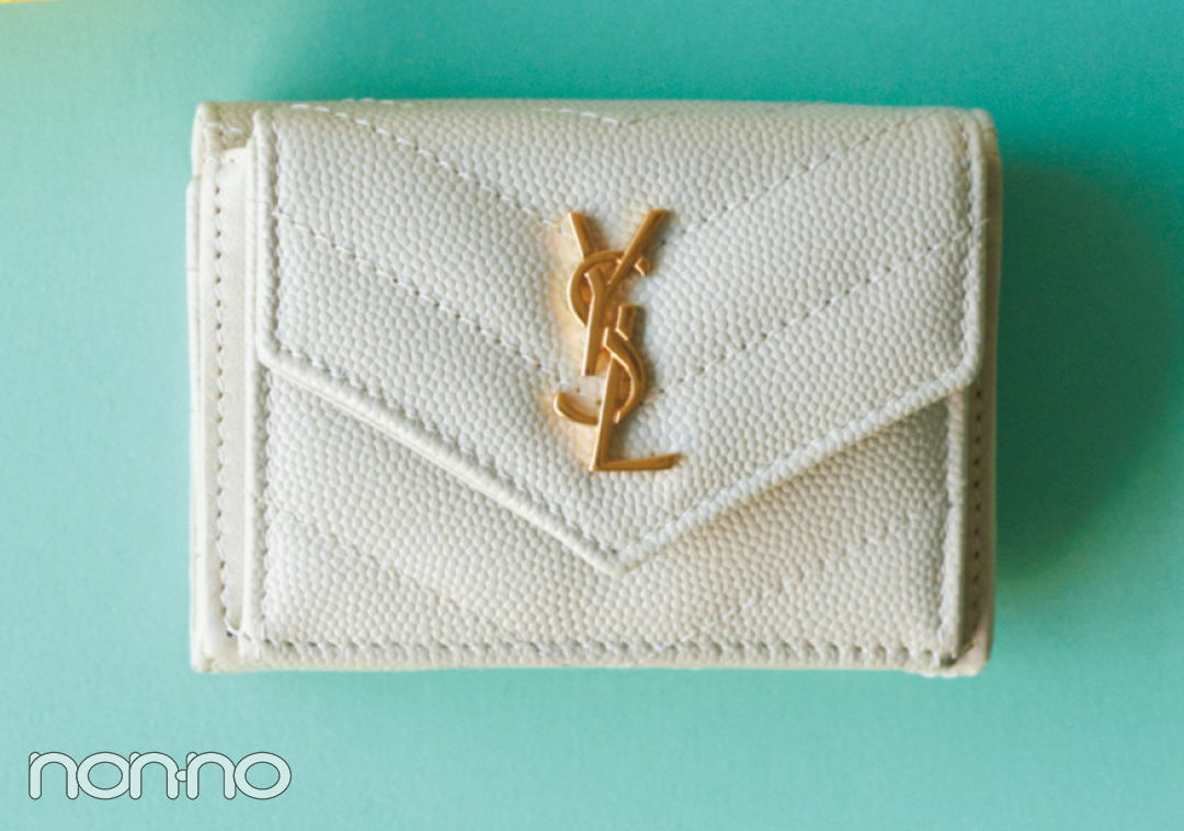 サンローランのミニ財布♡ 電子マネー時代が来る今こそ買い時!【20歳からの名品】_1_3-1