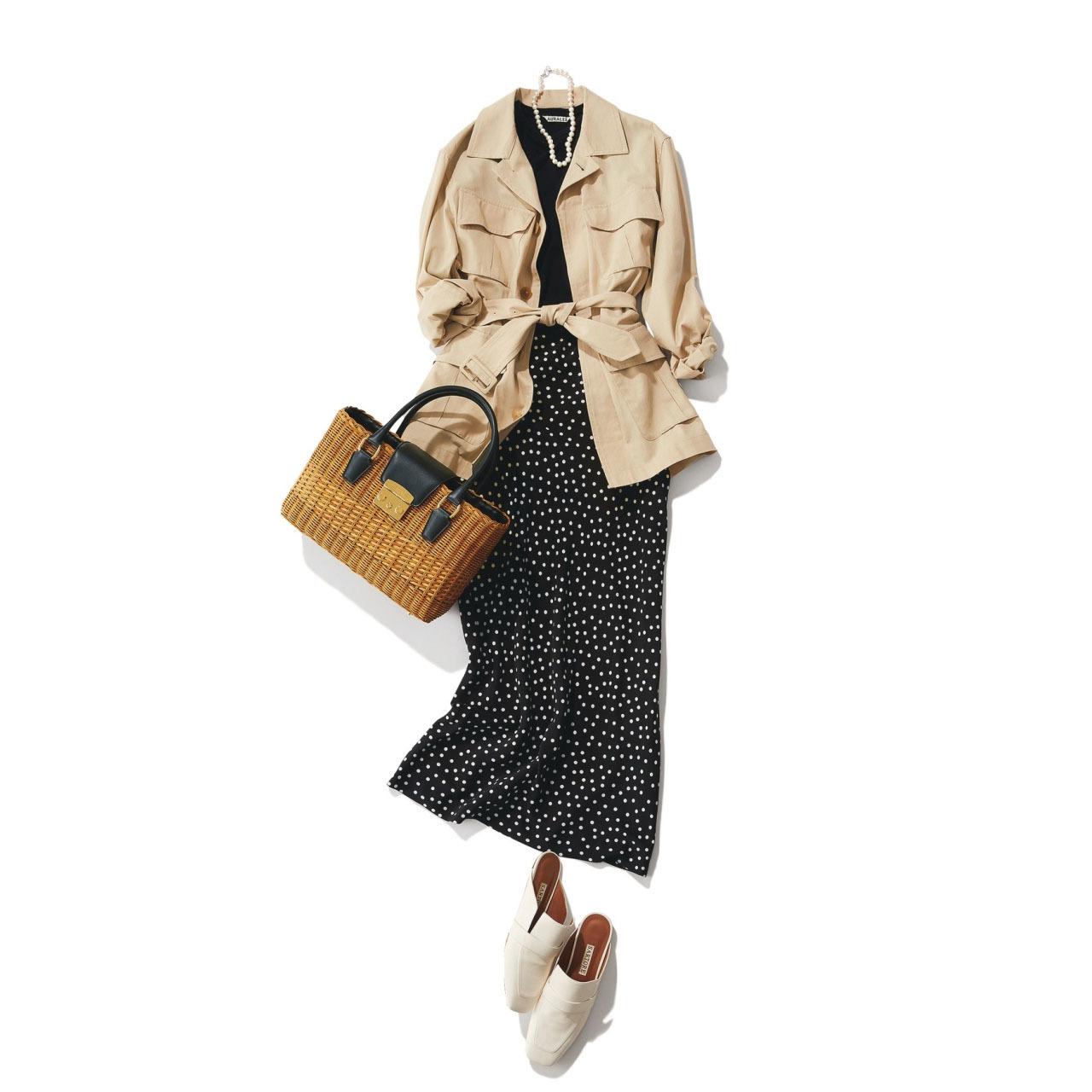 アラフォーを輝かせる4大春アウターのコーディネート実例集|40代レディースファッション_1_47