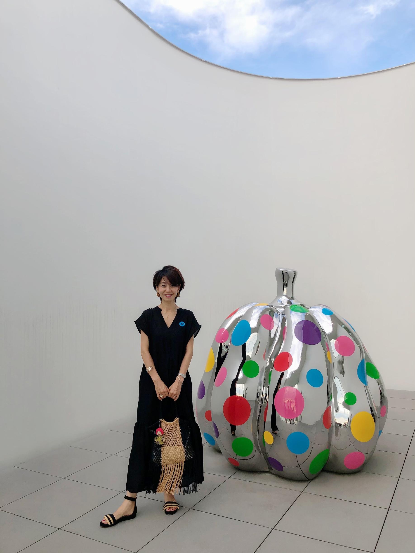 夏の終わりにYAYOI KUSAMA MUSEUMへ_1_6-1