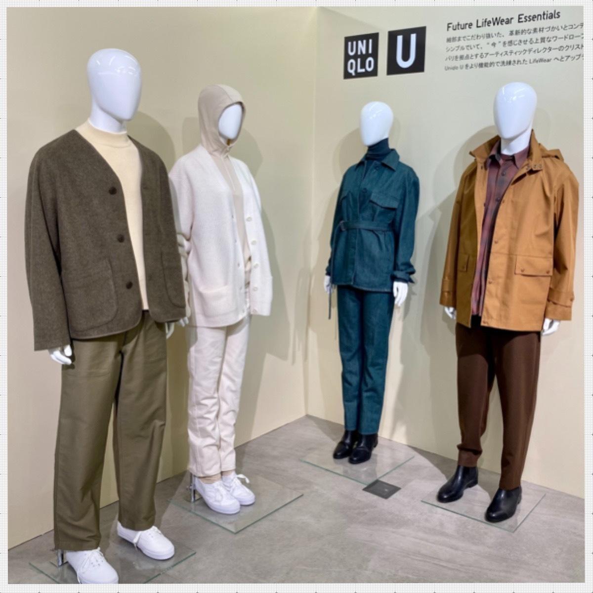 ユニクロ UNIQLO 2021 2022 秋冬 展示会 レポート 新作 おすすめ ユニクロユー Uniqlo U
