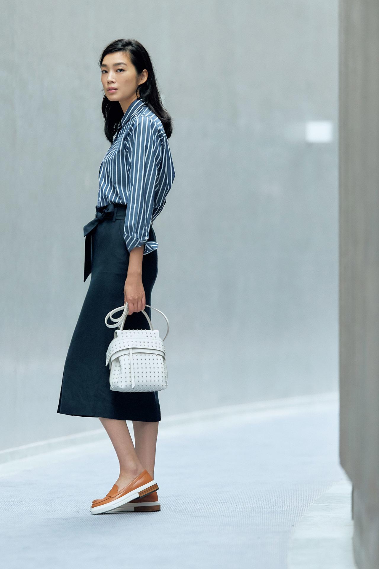 春のスカートスタイルで差をつけたいなら、こだわりカラーのマニッシュ靴を投入 五選_1_1-5