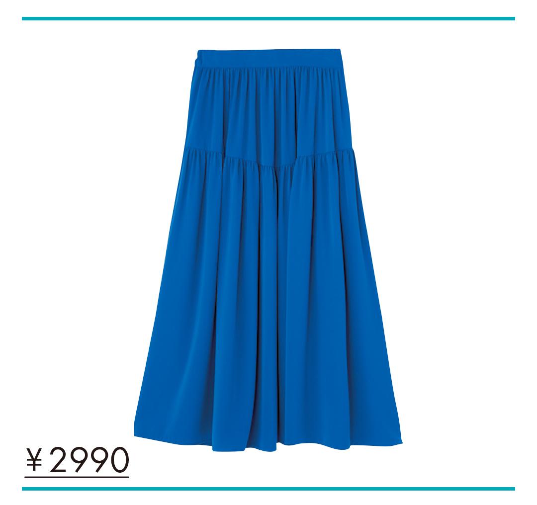 夏色プチプラ★ロングスカート、今買い足してもこんなに着回せる実例&カタログ!_1_7
