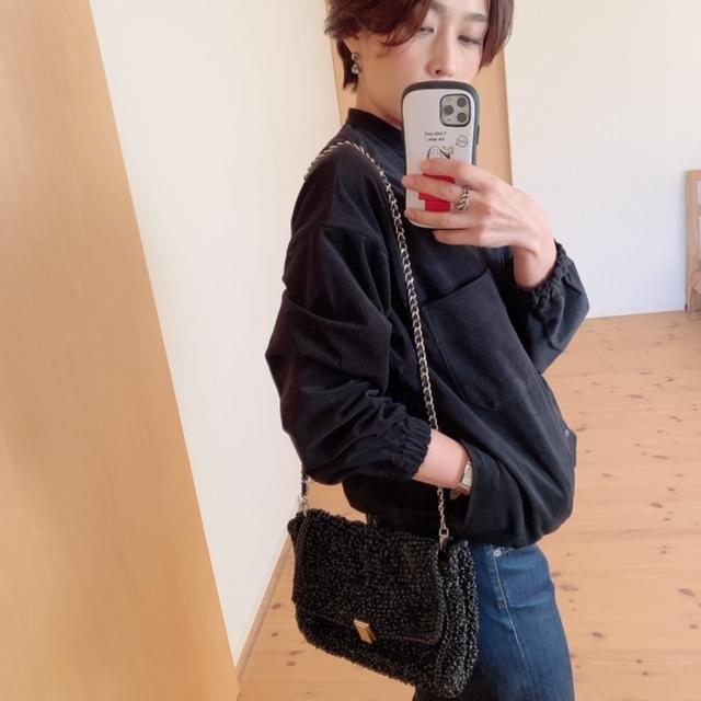 MUJI LABOの起毛ドロップショルダースタンドカラーシャツが使えます♡_1_4-2