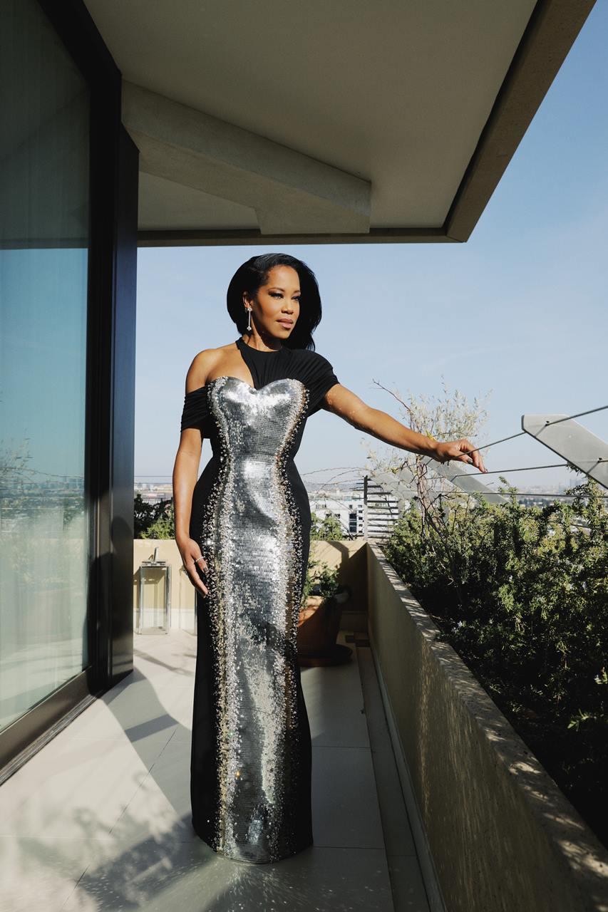 第78回ゴールデングローブ賞 レジーナ・キングのドレス
