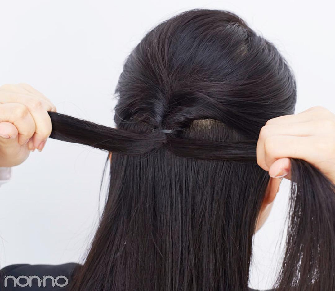就活の髪型、集団面接で映えるのは「崩れないハーフアップ」だった!_1_2-1